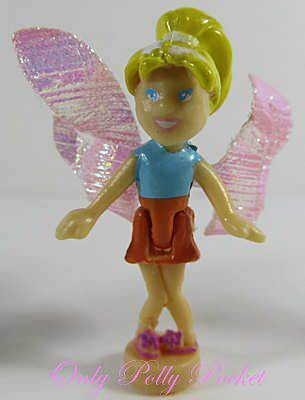 2001 Polly Pocket Doll  Petal Playhouse - Fairy Polly