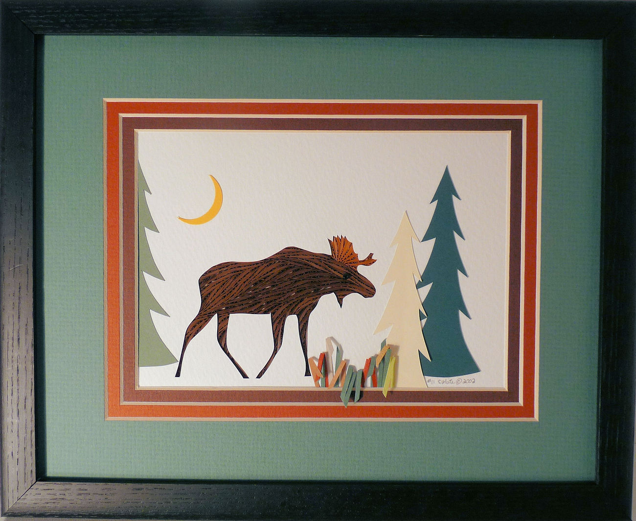 Quilled Moose