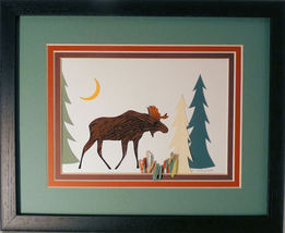 Quilled Moose - $175.00