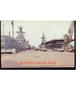Norfolk Naval Base 50s cars Ships  9.989 - $6.00