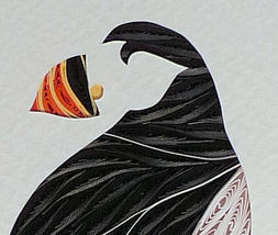 Quilled Puffin - $175.00