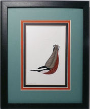 Quilled Red Breasted Nuthatch - $175.00