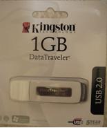 8 Kingston Technology DataTraveler 1GB USB 2.0 Flash Drives (Wh - $40.50