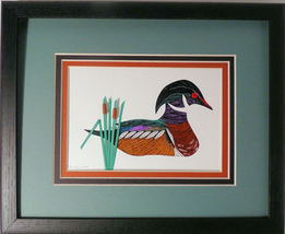 Quilled Wood Duck - $175.00