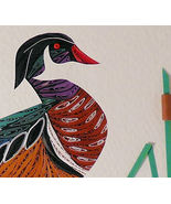 Quilled Wood Duck Standing - $175.00