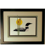 Loon Quilled and Framed Wall Art New Hampshire - $175.00