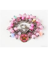 Crystal Star Compact Bracelet, Sailor Moon, Fairy Kei, Kawaii - $44.00