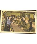 Post Exchange, Camp Grant Illinois  Linen 4.598 - $6.00