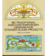 162 Traditional & Contemporary Design for Stained Glass New - $8.50