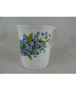 Blue Forget Me Nots Vintage Royal Dover Bone China England coffee Mug te... - $11.87
