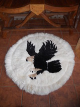 Alpaca rug american eagle design Wall Decor  - $120.00