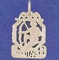 Sterling Silver Zodiac Necklace - SAGITTARIUS