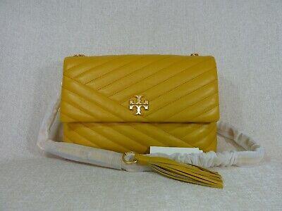 NWT Tory Burch Daylily Kira Chevron Flap Shoulder Bag $528