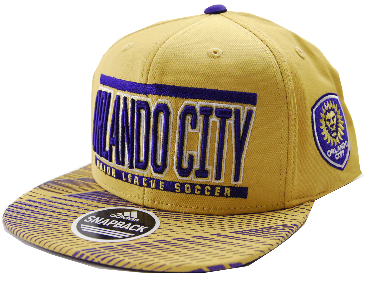 new product 11378 dbed7 S l1600. S l1600. Previous. Orlando City SC adidas VD82Z MLS Evolution Soccer  Team Snapback Cap Hat