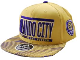 Orlando City SC adidas VD82Z MLS Evolution Soccer Team Snapback Cap Hat - $20.85