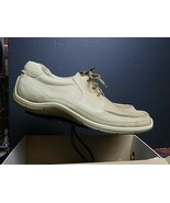 """Men's ECCO """"Eterna"""" Sand-Sable Leather Casual Cool Oxford Sz. 47/13 NWB - $75.53"""