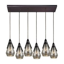 6-Light Hanging Pendant in Oil Rubbed Bronze - €1.080,10 EUR