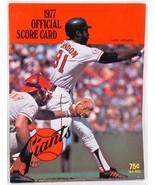 1977 San Francisco Giants vs NY Mets Program Magazine Signed by Rob Andrews - $15.00