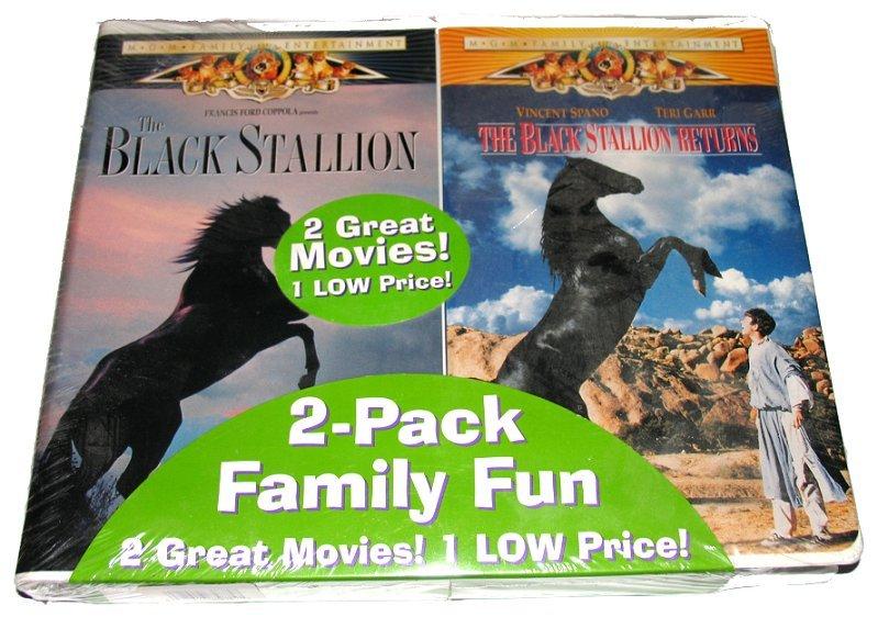 Vhs 2 pack black stallion front