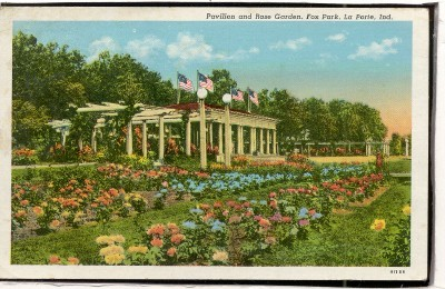 Rose Garden Fox Memorial Park La Port Indiana Indiana