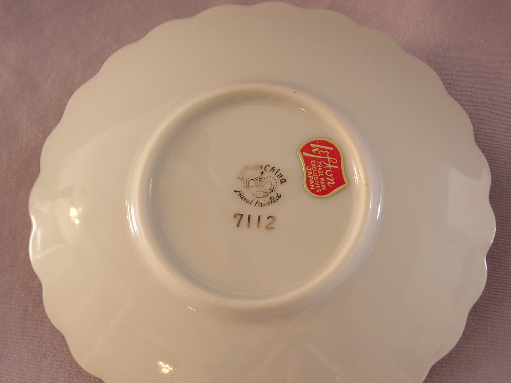 Lefton China Anniversary Candle Holder