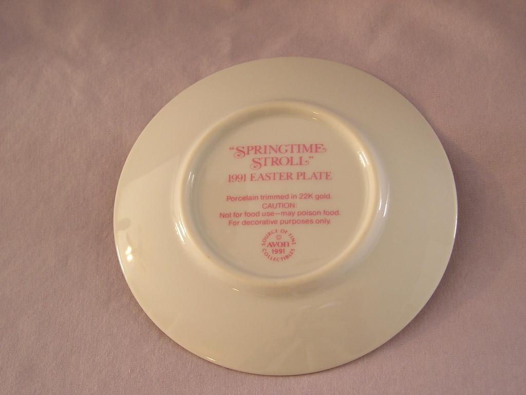 Avon Easter 1991 Plate