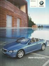 2004/2005 BMW MINIATURES brochure catalog diecast toys RC M - $8.00