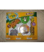 Crayola 'Safari' bathtub play set - $6.00