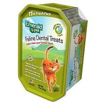 Emerald Pet Feline Dental Crunchy Natural Grain Free Cat Treats, Made in... - $26.09