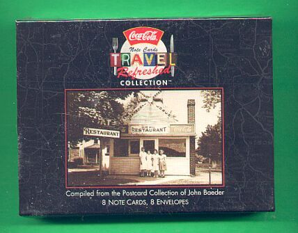 Coca Cola Travel Note Cards