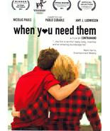 WHEN U NEED THEM Film by CONTRAMANO Promo/Postcard - $2.95