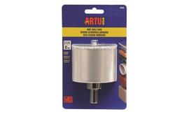 ARTU USA 02860 Hole Saw Tungsten Carbide Grit 3-1/4in W/Arb Brand New - $31.25