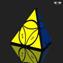 QiYi Mofangge Coin Tetrahedron Pyramid Magic Cube Toy Speed Puzzle Strange shape - $9.46
