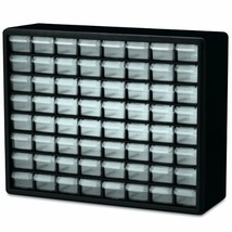Akro-Mils 10164 64 Drawer Plastic Parts Storage Hardware and Craft Cabin... - $44.52