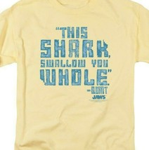 Jaws t-shirt This Shark Swallow You Whole-Quint retro 70s graphic tee UNI274 image 2