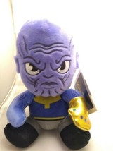 Kidrobot Marvel Avengers Phunny Thanos 8 Inch Plush Figure NEW with Tags - $13.90