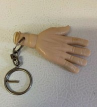 "VTG Hand Keychain Toy ""Thought I'd Give you a Hand""  Bendable Bendy Pose... - $14.52"