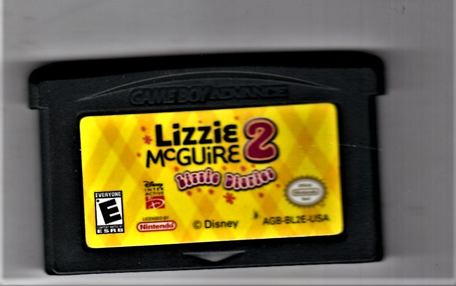 Game Boy Advance -Lizzie McGuire 2 (Little Sister)