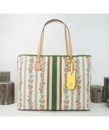 Tory Burch Gemini Link Roses Large Tote Shoulder Bag NWT - $291.56