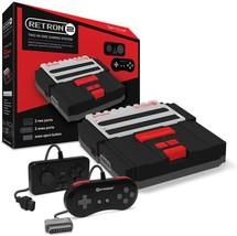 Hyperkin RetroN 2 Gaming Console for SNES/NES, Black (M05932-BK) - $49.99