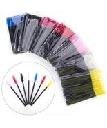 50Pcs/Pack Disposable Eyelash Brush Comb Mascara Wands Eye Lashes Extens... - $18.90