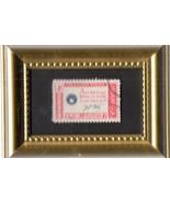 Tchotchke Stamp Art - American Credo - In God We Trust - $8.99