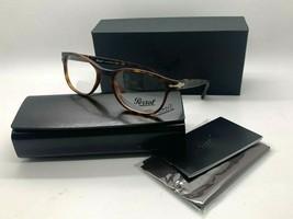 Persol Po 3085V 9001 Havana Eyeglasses Frame 51-19-140MM Nib Italy - $106.16