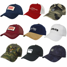 Levi's Men's Classic Adjustable Snapback Trucker Baseball Hat Cap image 1