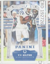 2017 Panini T.Y. Hilton WR Indianapolis Colts #30 192726 - $1.86