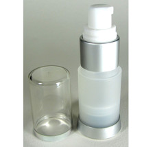 50 Empty Airless Pump Lotion Serum Bottles 0.5 oz Refillable Frosted #5012 - $151.95