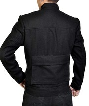 Star Wars Empire Strikes Back Han Solo Flap Pockets Black Wool Jacket image 3
