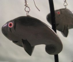Adorable Whale Dangle Earrings - Pierced Ears - Fashion Jewelry - $3.15