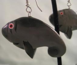 Adorable Whale Dangle Earrings - Pierced Ears - Fashion Jewelry - $3.15