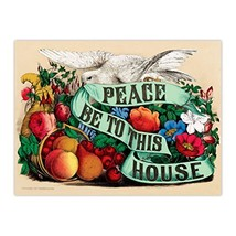 eeBoo Peace Be to This House Foil Puzzle, 500 Pieces - $28.26